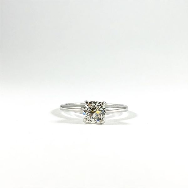 Round Diamond Solitaire Engagement Ring - I Color VS Clarity Lumina Gem Wilmington, NC
