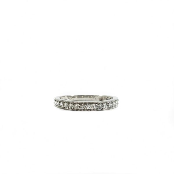 Diamond and White Gold Wedding Band Lumina Gem Wilmington, NC