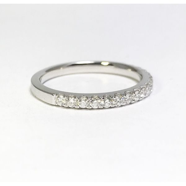 Lumina Gem Signature Collection White Gold Diamond Wedding Band Lumina Gem Wilmington, NC