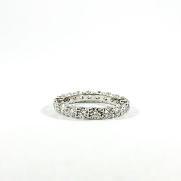 2.57ctw Diamond and Platinum Eternity Band - G-H Color VS2-SI2 Clarity Lumina Gem Wilmington, NC