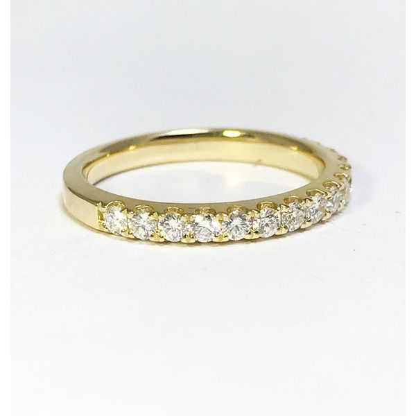 Lumina Gem Signature Collection Yellow Gold Diamond Wedding Band Lumina Gem Wilmington, NC