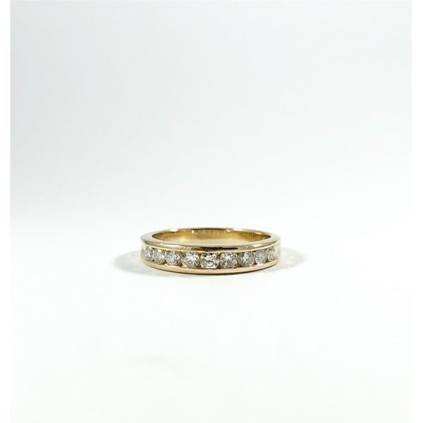 .50ctw Diamond Band- Yellow Gold - G Color I Clarity Lumina Gem Wilmington, NC
