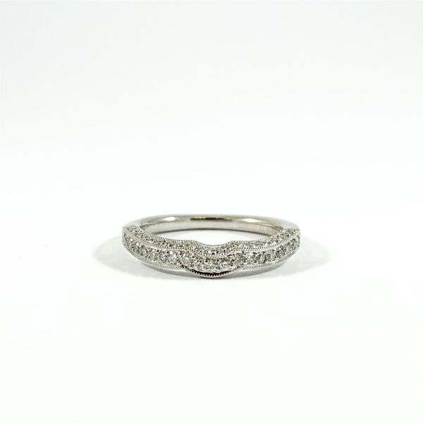 .40ctw Diamond and White Gold Wedding Band Lumina Gem Wilmington, NC