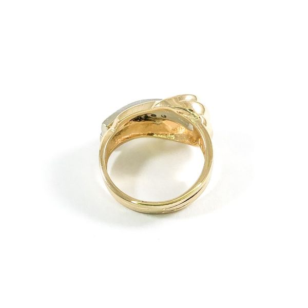 Diamond and Yellow Gold Fashion Ring Image 3 Lumina Gem Wilmington, NC