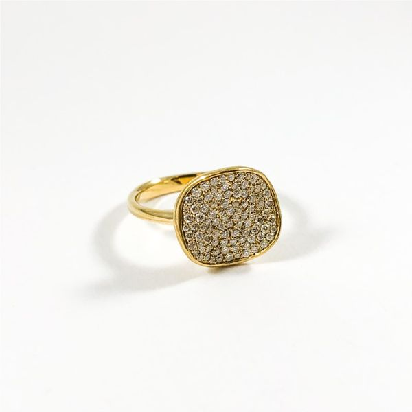 Ippolita Diamond Stardust Ring - Yellow Gold Image 2 Lumina Gem Wilmington, NC