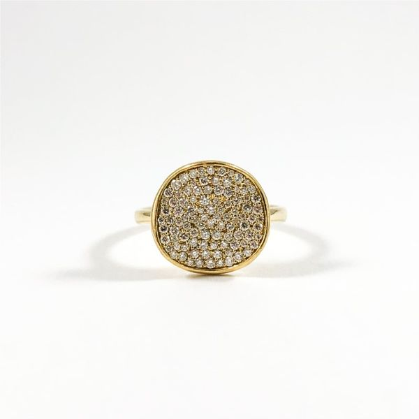 Ippolita Diamond Stardust Ring - Yellow Gold Lumina Gem Wilmington, NC