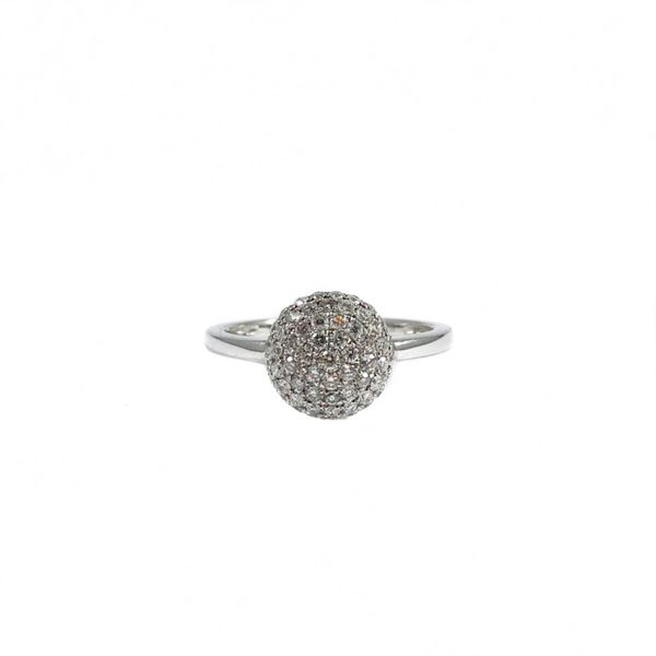 .50ctw Pave Diamond Ring - White Gold Lumina Gem Wilmington, NC