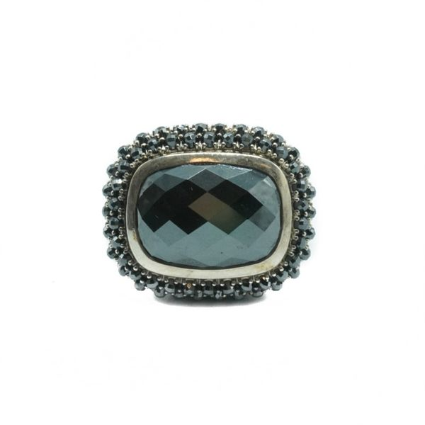 David Yurman Limited Hematite Ostera Ring Lumina Gem Wilmington, NC