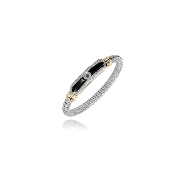 Alwand Vahan Onyx and Diamond Bracelet Lumina Gem Wilmington, NC