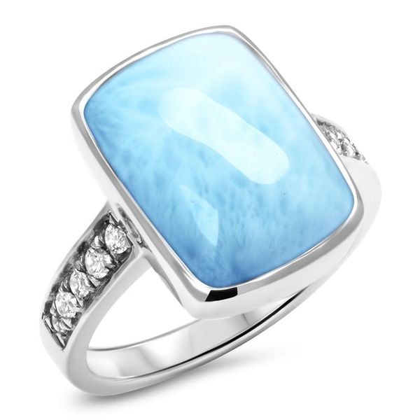 Marahlago Maris Larimar Ring Lumina Gem Wilmington, NC