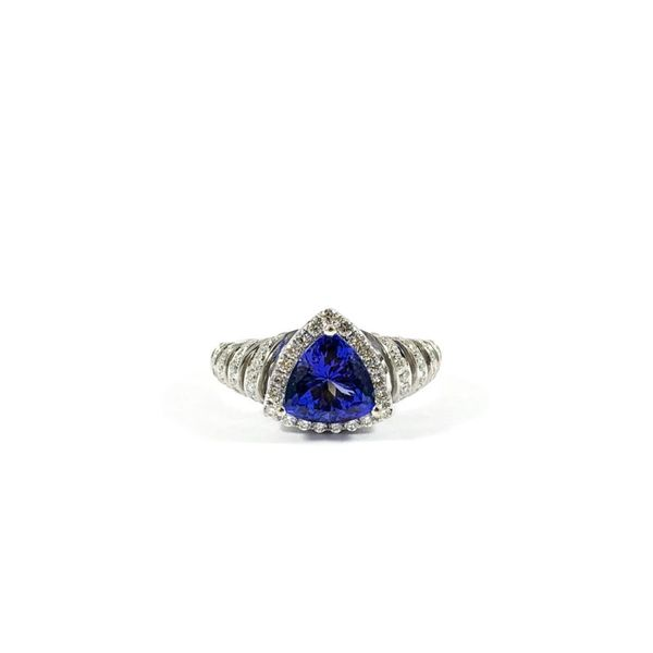 Tanzanite and Diamond Ring Lumina Gem Wilmington, NC