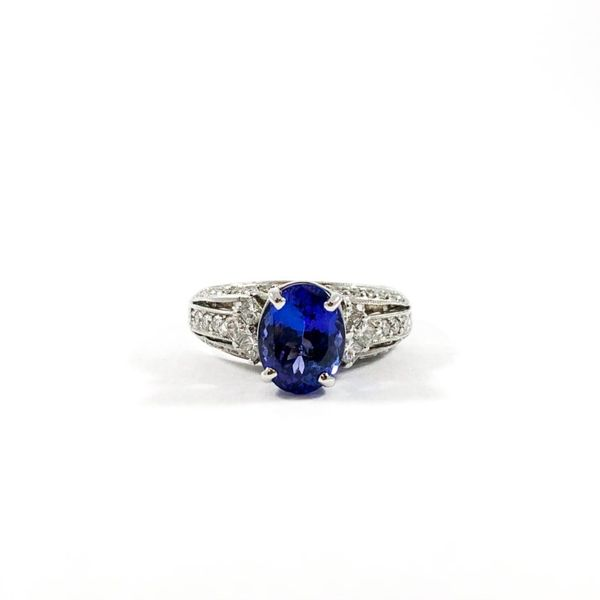 2ct Tanzanite and Diamond Ring Lumina Gem Wilmington, NC