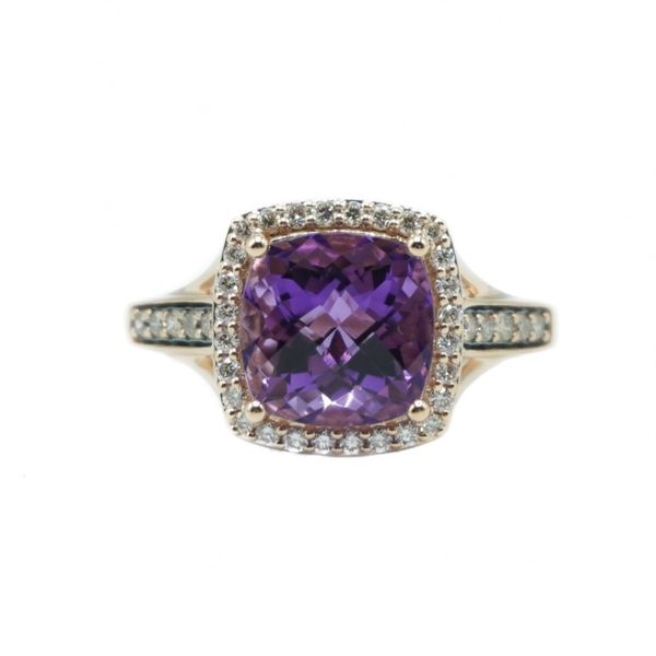 Le Vian Amethyst and Diamond Ring - Rose Gold Lumina Gem Wilmington, NC