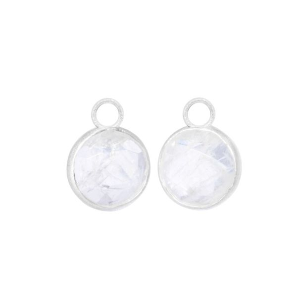 Nina Nguyen Moonstone Petal Earring Charms Lumina Gem Wilmington, NC