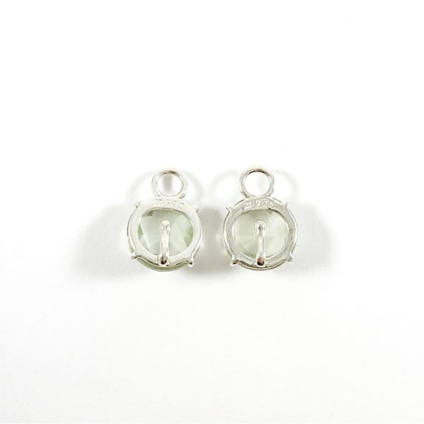Nina Nguyen Green Amethyst and Sterling Silver Petal Charms Image 2 Lumina Gem Wilmington, NC