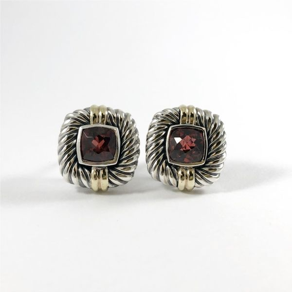 David Yurman Garnet Earrings Lumina Gem Wilmington, NC