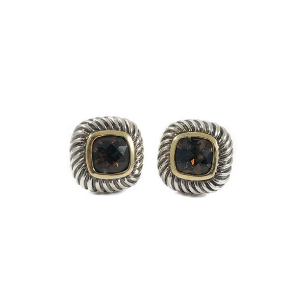 David Yurman Smokey Quartz Earrings Lumina Gem Wilmington, NC