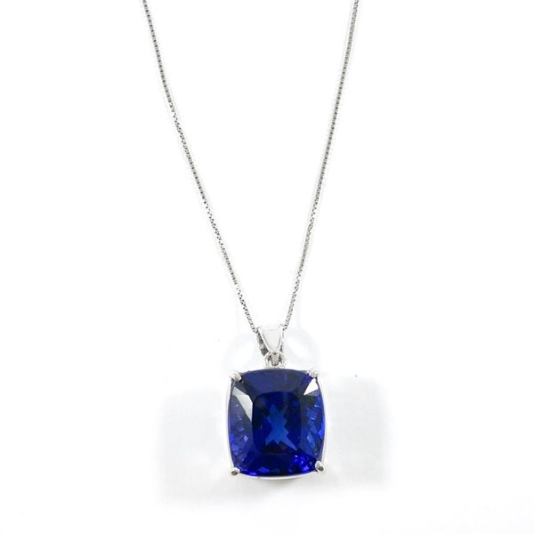 AAA Quality 19ct Tanzanite Pendant - 20