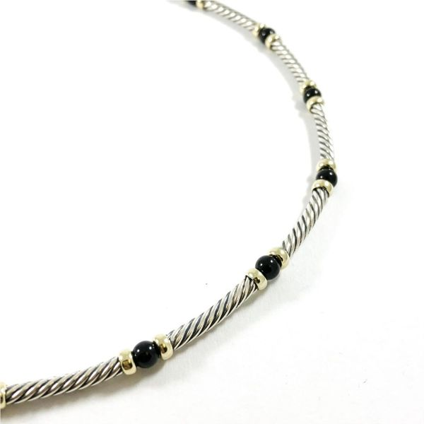David Yurman Onyx Necklace Image 2 Lumina Gem Wilmington, NC