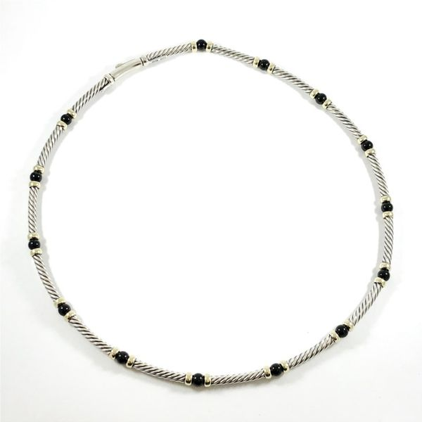 David Yurman Onyx Necklace Lumina Gem Wilmington, NC