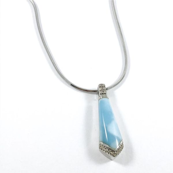 Marahlago Larimar Drift Necklace Lumina Gem Wilmington, NC