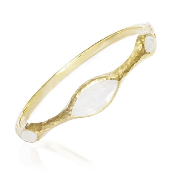 Nina Nguyen Moonstone and Gold Vermeil Marquise Lumina Gem Wilmington, NC