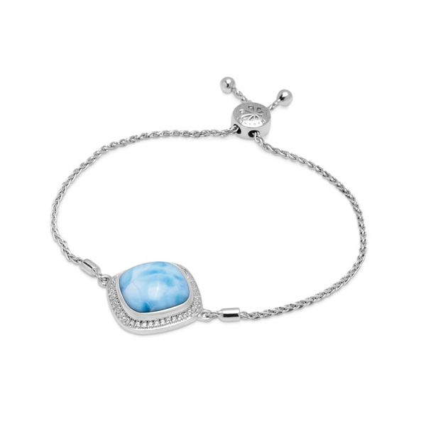 Marahlago clarity cushion bracelet Lumina Gem Wilmington, NC