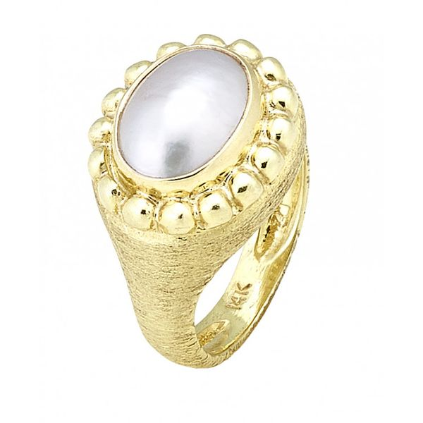 Raymond Mazza Mabe Pearl Ring Lumina Gem Wilmington, NC