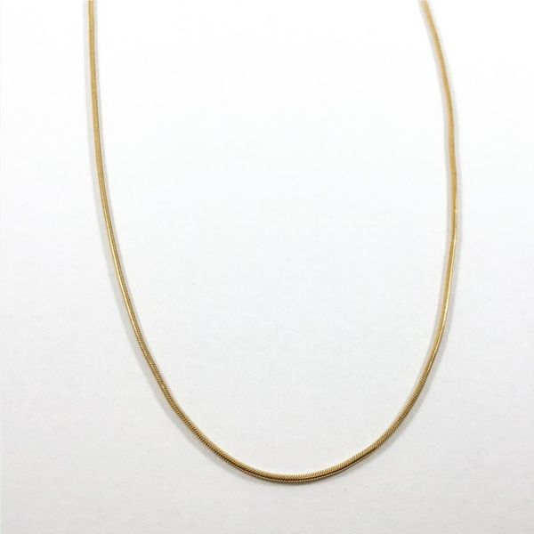 14k Yellow Gold Necklace - 16