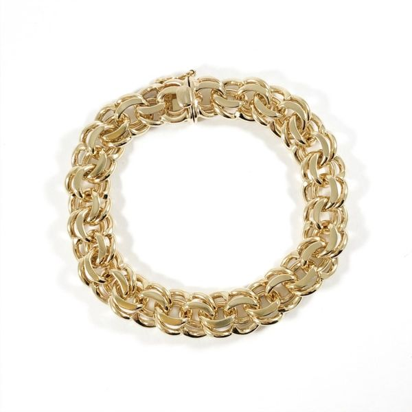 Tiffany and Co. 14k Yellow Gold Bracelet - 7.25