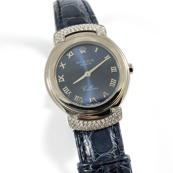 Rolex Cellini Stainless and Diamond Watch Lumina Gem Wilmington, NC