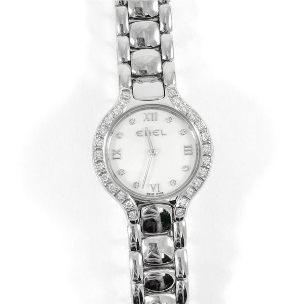 Ebel Stainless Watch with Diamond Bezel Lumina Gem Wilmington, NC