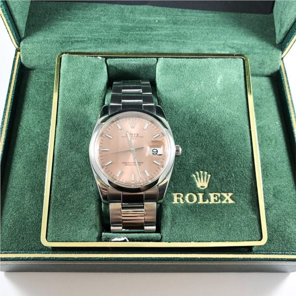 Rolex Stainless Steel Watch with Blush Face - Year 2013-2017 Image 2 Lumina Gem Wilmington, NC