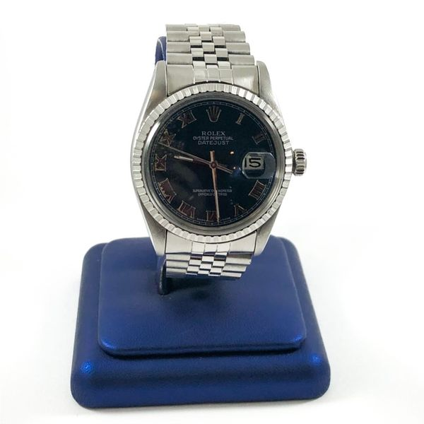 Rolex Datejust with Navy Dial Lumina Gem Wilmington, NC