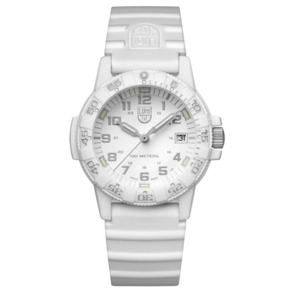 Luminox Leatherback SEA Turtle Watch - White Silicone Lumina Gem Wilmington, NC