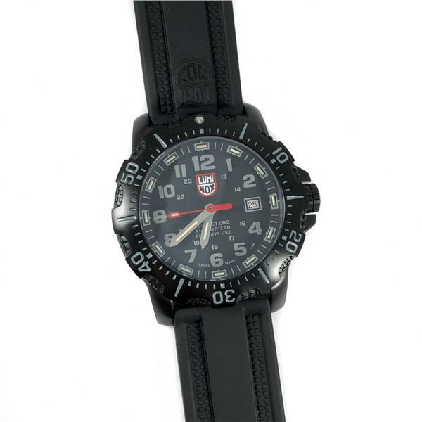 Luminox Watch - PVD Coasted Stainless Steel - Silicone Strap Lumina Gem Wilmington, NC