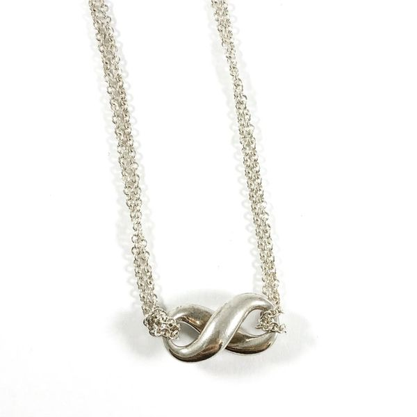 Tiffany & Co. Sterling Silver Infinity Necklace Lumina Gem Wilmington, NC