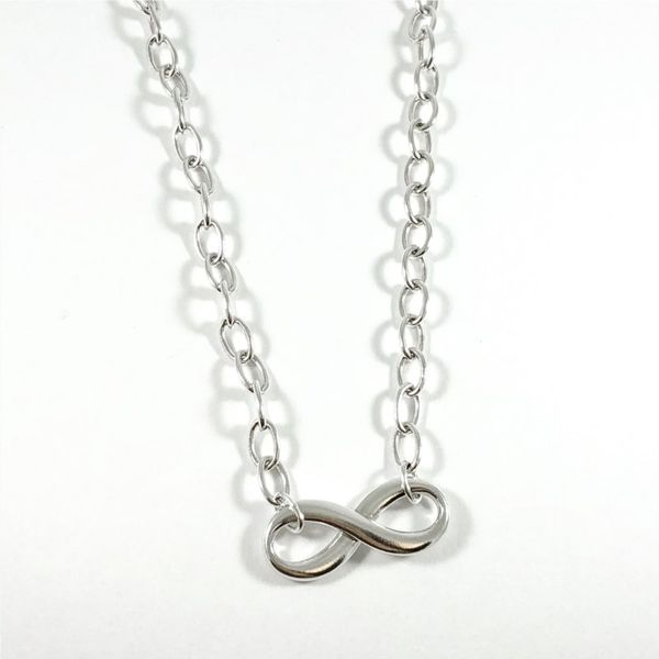 Tiffany & Co. Infinity Necklace - 18 Inches Lumina Gem Wilmington, NC