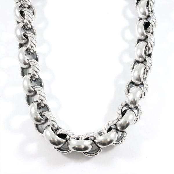 David Yurman Large Circle Link Necklace - 18