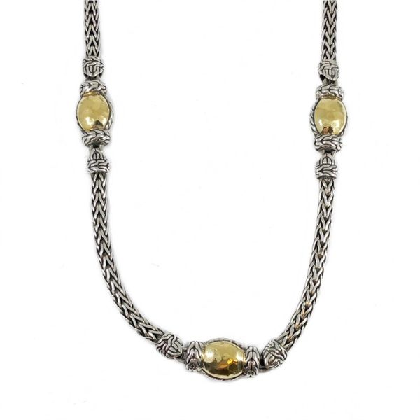 Spinel Air Element Necklace Citrine Keith Jack\u2122 Sterling Silver