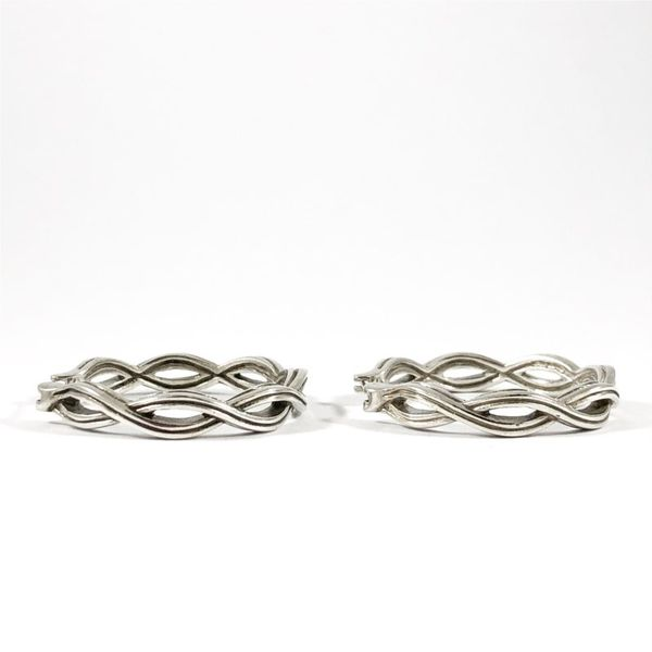 Slane Twisted Hoops Image 2 Lumina Gem Wilmington, NC