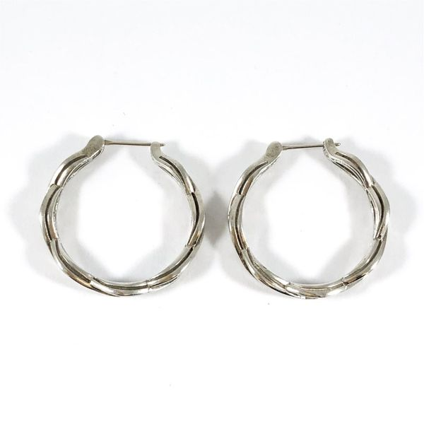 Slane Twisted Hoops Image 3 Lumina Gem Wilmington, NC