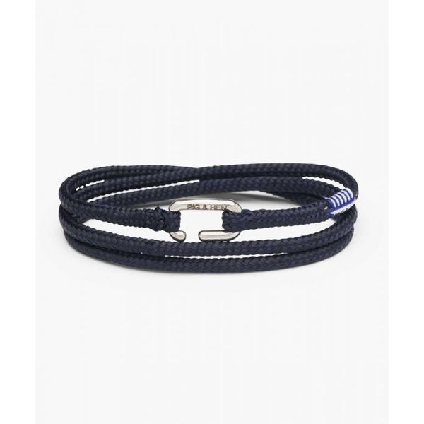 Pig & Hen Savage Sam Rope Bracelet - Navy - Medium/Large Lumina Gem Wilmington, NC