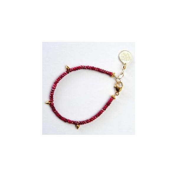 Wendy Perry Design Finisterre Ruby Bracelet Lumina Gem Wilmington, NC