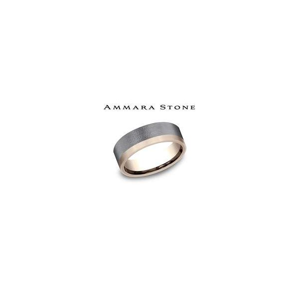 Benchmark Grey Tantalum and Rose Gold Band Lumina Gem Wilmington, NC