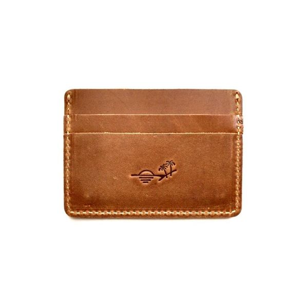Ultra-slim wallet from Flint Leather Co Lumina Gem Wilmington, NC