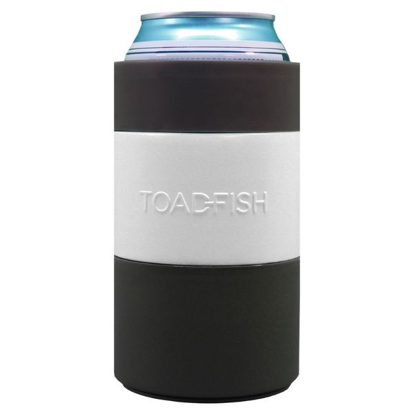 Toadfish Non-Tipping Can Cooler - White Image 2 Lumina Gem Wilmington, NC