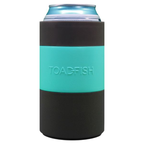 Toadfish Non-Tipping Can Cooler - Teal Image 2 Lumina Gem Wilmington, NC