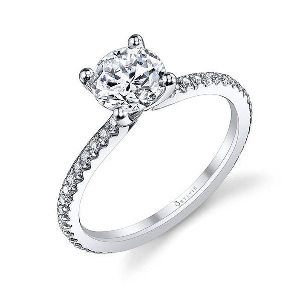 ADORLEE – ROUND SOLITAIRE ENGAGEMENT RING Mark Allen Jewelers Santa Rosa, CA