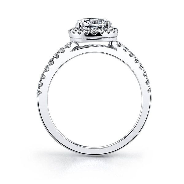 GWENDOLINE – CLASSIC HALO ENGAGEMENT RING Image 2 Mark Allen Jewelers Santa Rosa, CA